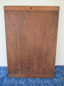 "Antique Dough Bread Board Pine Wood 20""x14"" Vintage Primitive, Breadboard Ends"