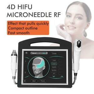 Portable Microneedle RF 4D Hifu 12 Lines Machine Face Lifting Anti Stretch Marks