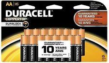 Duracell Coppertop Aa Alkaline Batteries 16 ea (Pack of 2)