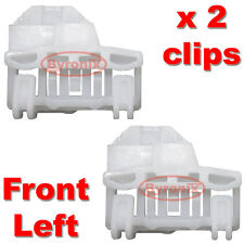 AUDI A4 WINDOW REGULATOR CLIPS - FRONT LEFT Passenger Side on RHD
