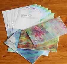 Nature Art Watercolor Letter Stationery Envelope Set Floral Cute parchment paper