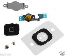 iPhone 5C Home Button replacement  Key Cap + Flex Cable + Holder+Screws+Film