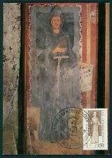 ITALY MK 1976 SAINT ST. FRANCIS OF ASSISI CARTE MAXIMUM CARD MC CM RARE!! dy23