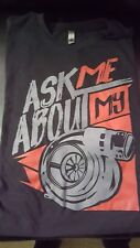 80Eighty.com Ask Me About My Turbo tee XXL
