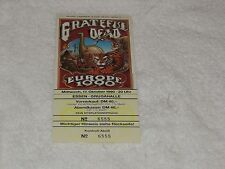 Grateful Dead - Ticket - Europe 1990 Essen Germany 10/17/1990 Mint  - WOW