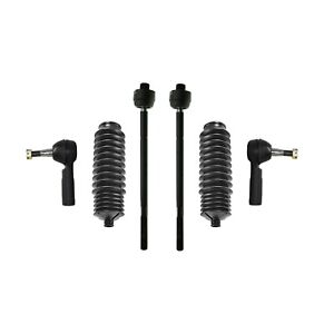 6 New Pc Inner Outer Tie Rods Steering for Pontiac Oldsmobile Cadillac Buick