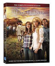 Heartland: Season 8 (DVD, 2015, 5-Disc Set, Canadian) New In Stock!