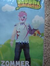 MOSHI MONSTERS 'ZOMMER' 4-6yrs BOYS COSTUME.