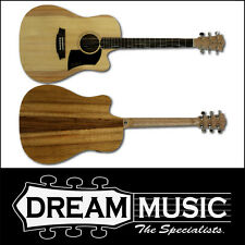 Cole Clark FL1EC-BB Fat Lady Series Dreadnought Acoustic Guitar RRP$2199