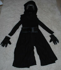 Star Wars Kylo Ren Costume Halloween Dress-up Size 4-6 Outfit Mask Rubie's NEW