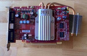 MSI RX2600XT-T2D256EZ Radeon HD 2600XT 256MB GDDR3 PCI Express x16 HDCP Ready