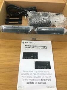 ATLONA 4K/UHD HDMI OVER HDBASET TX/RX WITH CONTROL AND POE