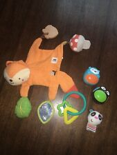 Baby Teether Toys And Rattles Lot