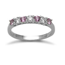 Very Good Cut White Sapphire Fine Diamond Rings