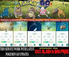 Pokemon Go Trading Regionals: Pachirisu Chatot Carnivine Tropius ...read descrip