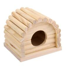 CARNO Natural Wooden Dome Hamster House Toys for Hamster 10.5 x 10 x 9cm