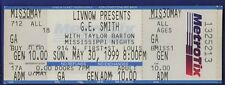 G E Smith Taylor Barton Mississippi Nights St Louis May 30 1999 Ticket