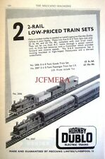 1960 Hornby-Dublo Train Advert 0-6-0 Tank Engine Sets - Vintage Railway Print AD