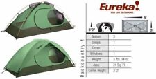 Eureka Backcountry 1 person green tent - new in box