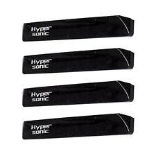 Hypersonic Car Door Black Edge Guard Auto Protector Molding Strip Trim 4PCS