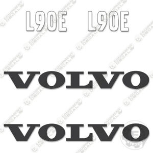 Volvo L90E Decal Kit Large Wheel Loader - 7 Year Outdoor 3M Vinyl!