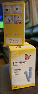 FreeStyle Lancets 100 Each Lot Of 4