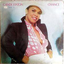 VINILE LP 33 GIRI RPM CANDI STATON CHANCE W 56641 ITALY 1979