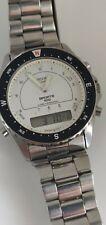 SEIKO SPORTS 100 H461-6000 Chronograph Alarm Watch Spare or Repairs  (447F)