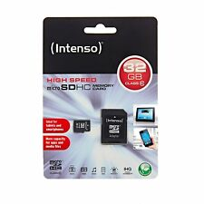 Intenso Micro SD HC Karte 32 GB SDHC Class 10 + Adapter