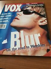 VOX January 1996 Blur Cover