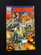 Mars Attacks # 1 - San Diego Comic Con Variant Cover - SDCC - IDW