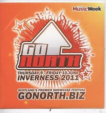 Various Artists - Music Week Presents Go North Inverness 2011  (12 Trk Promo CD)