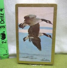REDISLIP playing cards NWT vtg Richard Bishop painting 1970s Canada Goose NWT