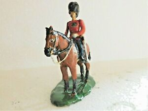 54mm British Guards Officer mounted on parade eg. trooping the colour