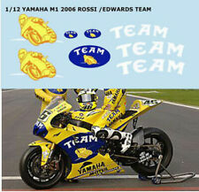 1/12 YAMAHA M1 2006 CAMEL TEAM VALENTINO ROSSI DECALS TB DECAL TBD38