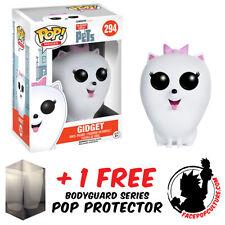 Funko Pop Secret Life Of Pets Gidget Vinyl Figure With Free Pop Protector