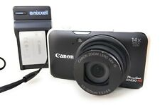 Canon PowerShot SX230 HS 12.1Mp Digital Camera 14X Optical Zoom charger battery