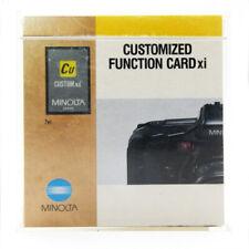 Minolta Multiple Exposure Card Xi for 5xi, 7xi & 9xi & 8000i Cameras - Excellent