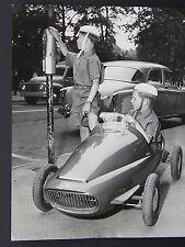 Vintage Photo, Automobile Racing, Miniature Cars, Children, 1930s - 1960s #03