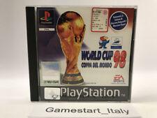 WORLD CUP 98 COPPA DEL MONDO - SONY PS1 - USATO PERFETTAMENTE FUNZIONANTE PAL