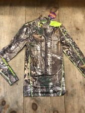 Under Armour Coldgear Infrared Scent Control Mossy Oak Compression Shirt Men's S
