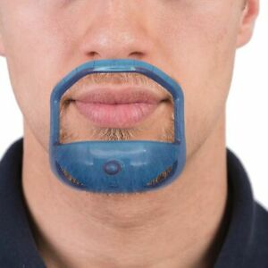 Beard Comb Brush 5pcs Symmetric Cut Salon Mustache Beard Styling Template Tool