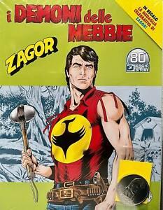 Fumetti Sergio Bonelli Editore Zagor n 720 Demoni delle Nebbie + Medaglia