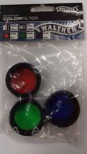 Walther Colour Filtro Set X 3 para táctico XT