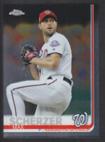 Topps - Chrome 2019 - # 140 Max Scherzer - Washington Nationals