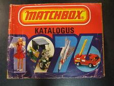Matchbox Catalogue 1976 (Nederlands)