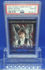 HARRY POTTER GOBLET OF FIRE ARTBOX TRADING CARD PORTRAIT #2 PSA 10 GEM MINT
