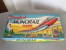 1960 #VINTAGE Disneyland Monorail Parker Brothers Board Game #NIB