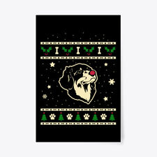 """Christmas Hovawart Gift Poster - 24""""x36"""""""