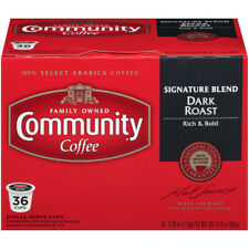 Community Coffee Keurig K-Cup Brewer Compatible Single Serve Cups, 36 Ct